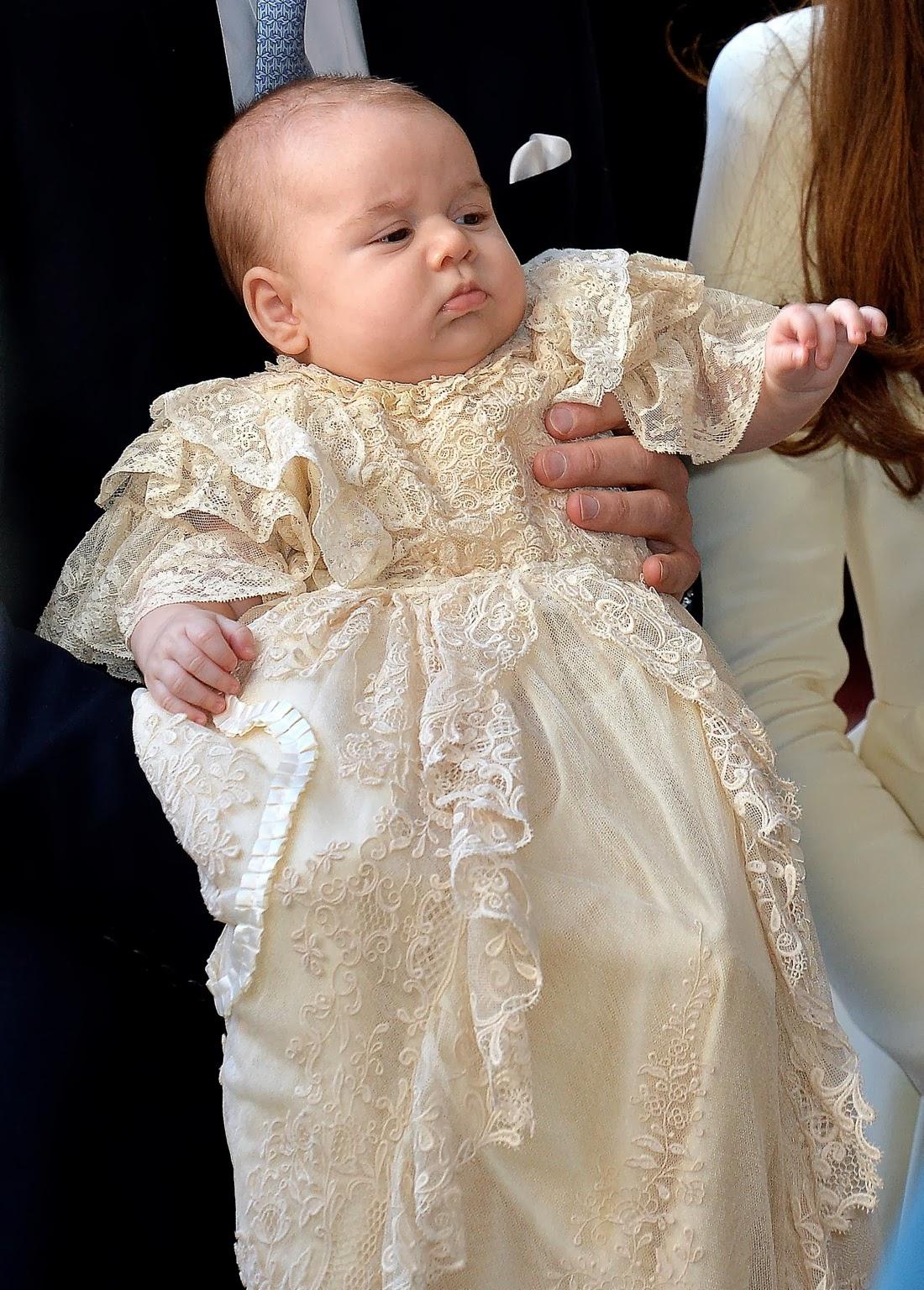Kate Middleton Christening Dress White