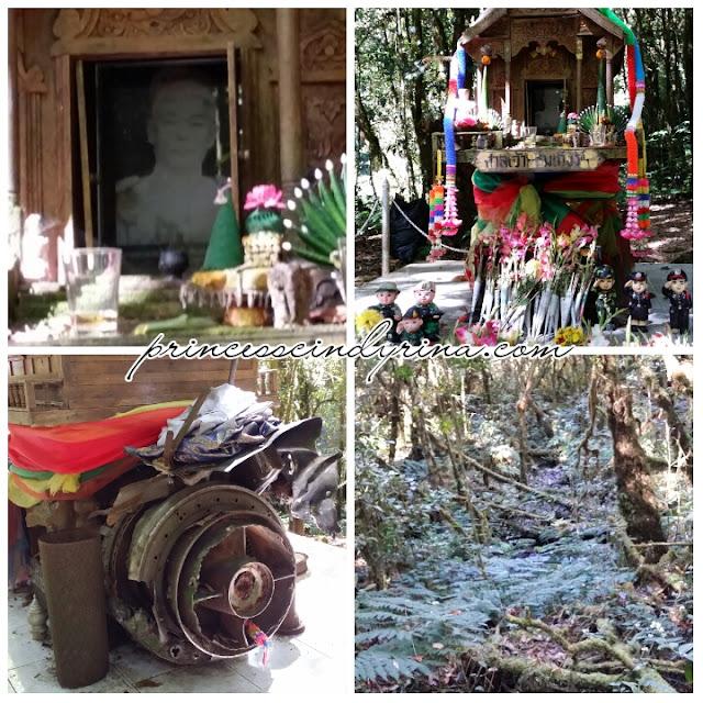 shrine in jungle