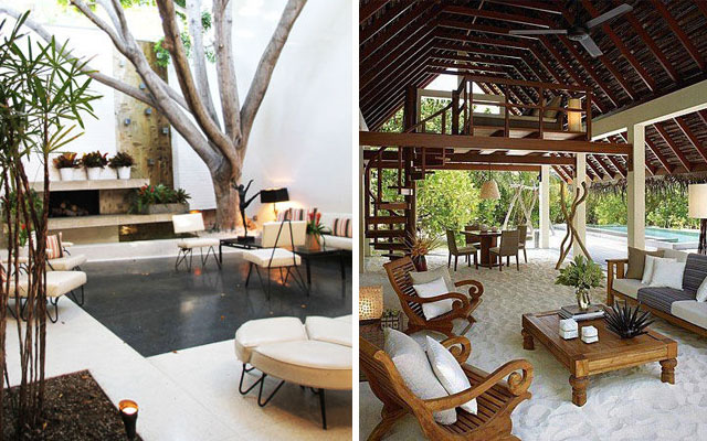 Marzua c mo decorar terrazas amplias y porches - Como decorar un porche abierto ...