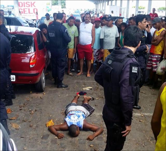 Homem é executado a tiros no centro de Aracaju