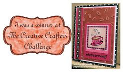 JULY 2019 WINNER @ THE CREATIVE CRAFTERS CHALLENGE #18