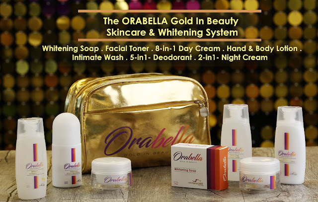 orabella gold in beauty skin care whitening system