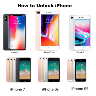 How to Unlock iPhone, iPhone X, iPhone 8, iPhone 8 Plus, iPhone 7