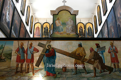 israel reizen, Foto's van Jeruzalem, De oude stad, Kerken in Jerusalem, Reizen, Foto, Israel, De christelijke wijk