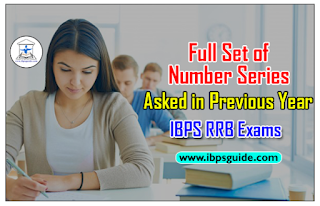 Full Set of Number Series asked in Previous Year IBPS RRB Prelims (Clerk/PO) Exam with Detailed Solution