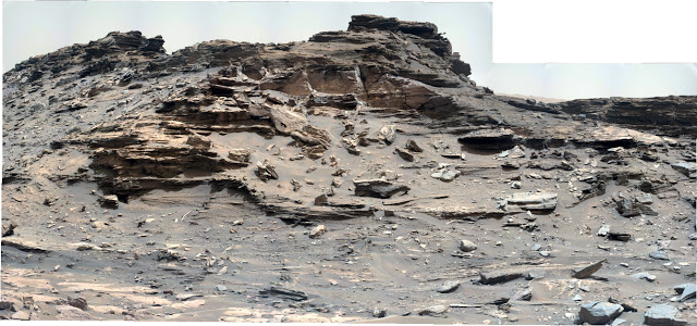 Sol 1448 Curiosity Right Mastcam (M-100) Pahrump Hills