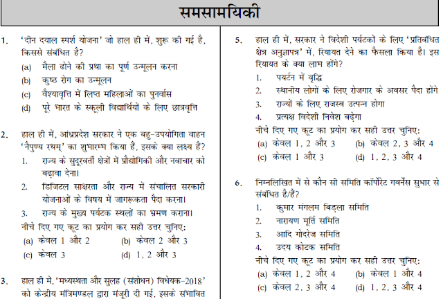 Dhyeya IAS Jan-April 2018 Current Affairs in Hindi Download PDF