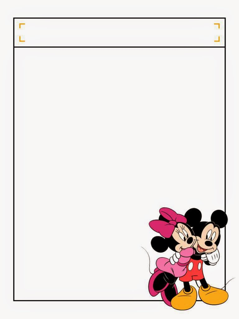 Mickey And Minnie Free Printable Notebook Oh My Fiesta