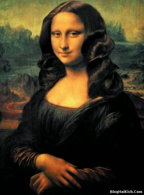 ảnh chế nàng Mona Lisa - Tranh 5