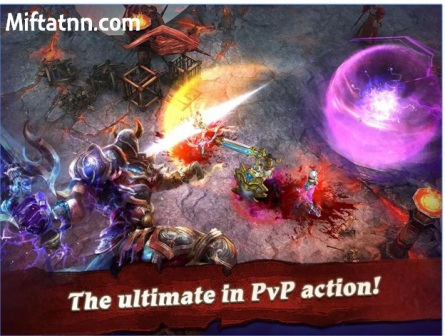 Game RPG Online Terbaik Android Clash for Dawn MOD APK