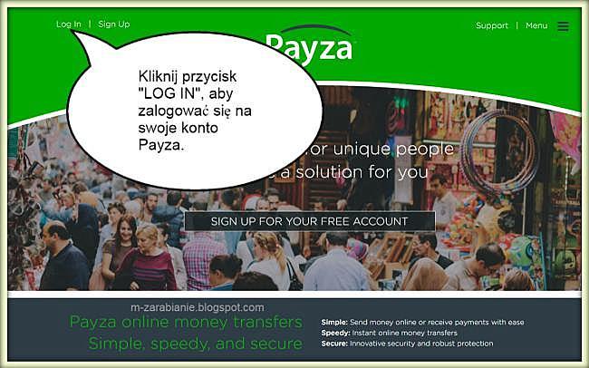 Payza — login