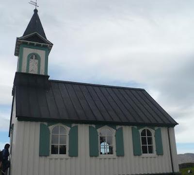 Parco Nazionale di Þingvellir la chiesetta