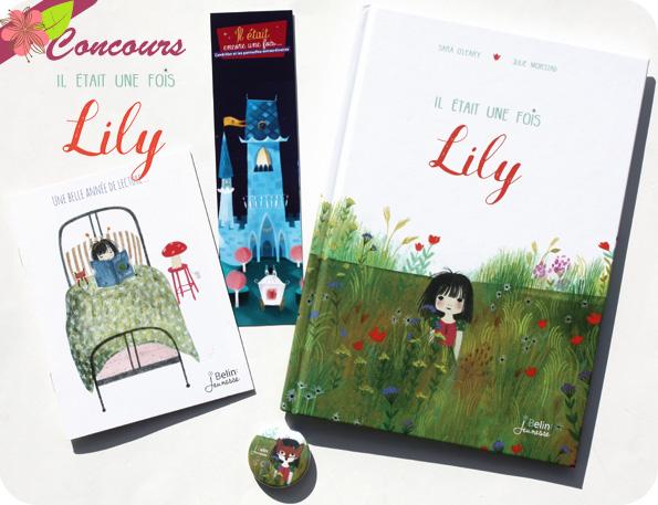 Concours Il était une fois Lily de Sara O'leary et Julie Morstad - Belin Jeunesse