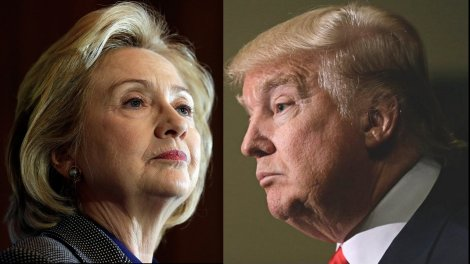 Crooked Hillary and Trump