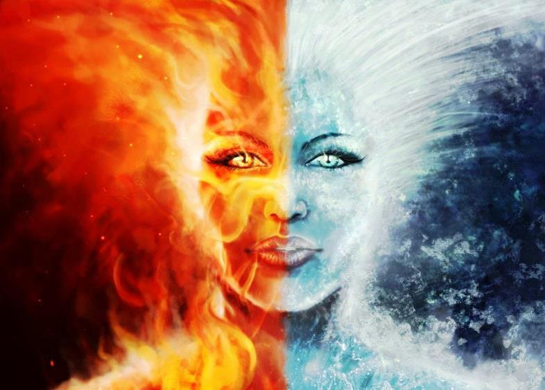 Wallpaper Proslut: Astonishing Fire And Ice Wallpapers