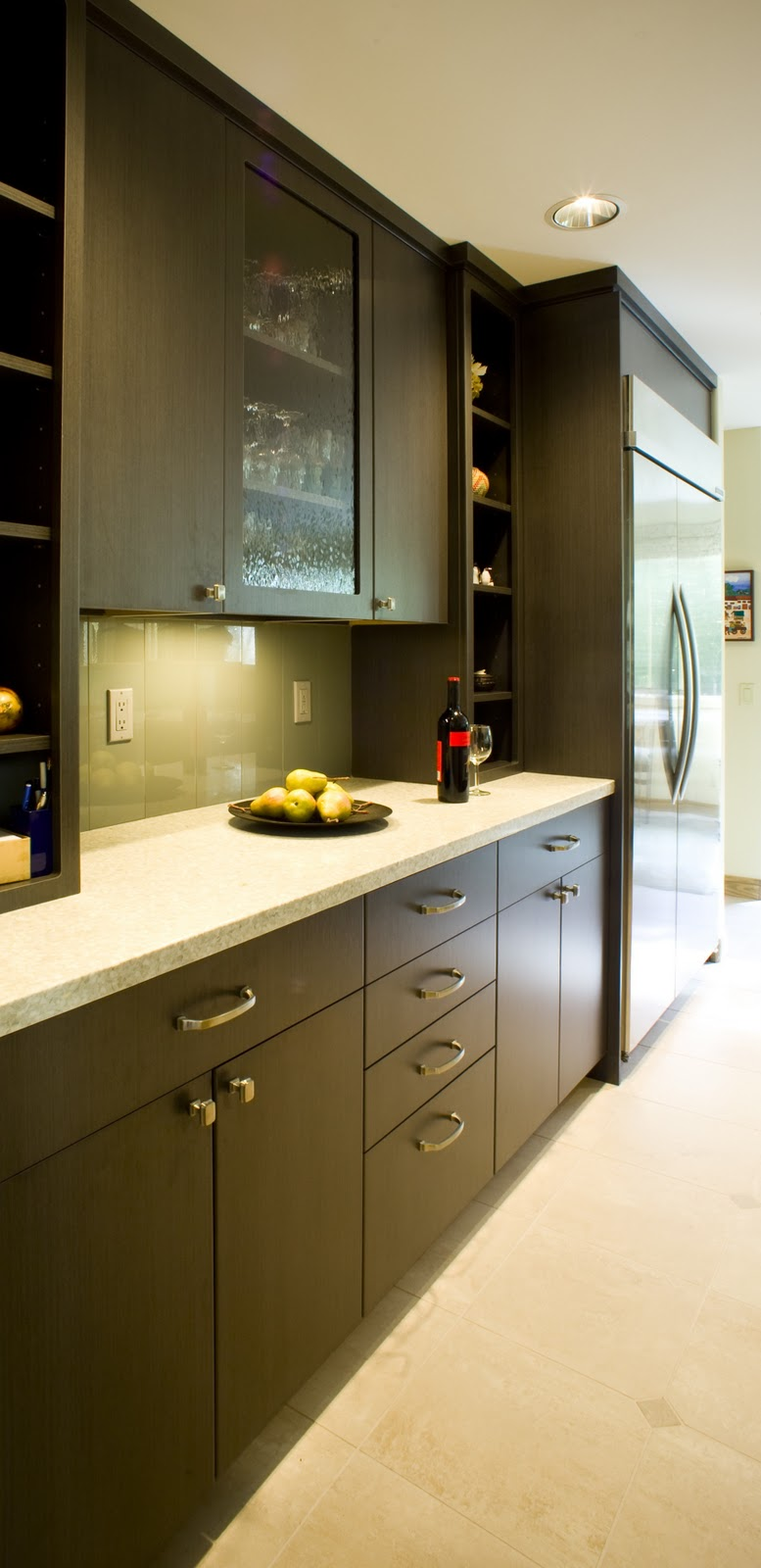 My Two Cents Bellevue Kitchen Remodel Laminate Cabinets Concrete