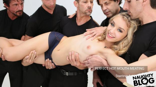 New Sensations – Aurora Belle: Meat Meeting In A Hot Mouth