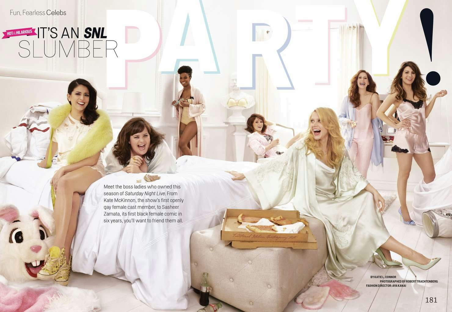 'The Women of SNL' Cosmopolitan May 2014