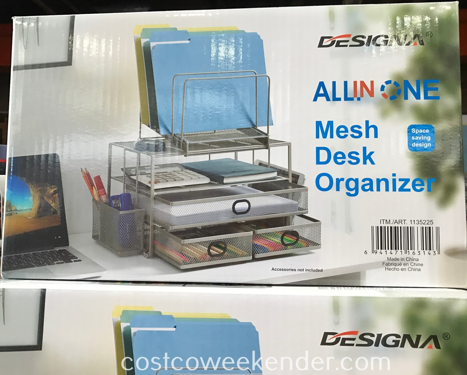 Designa All In One Mesh Desk Organizer Designa Mesh Desk