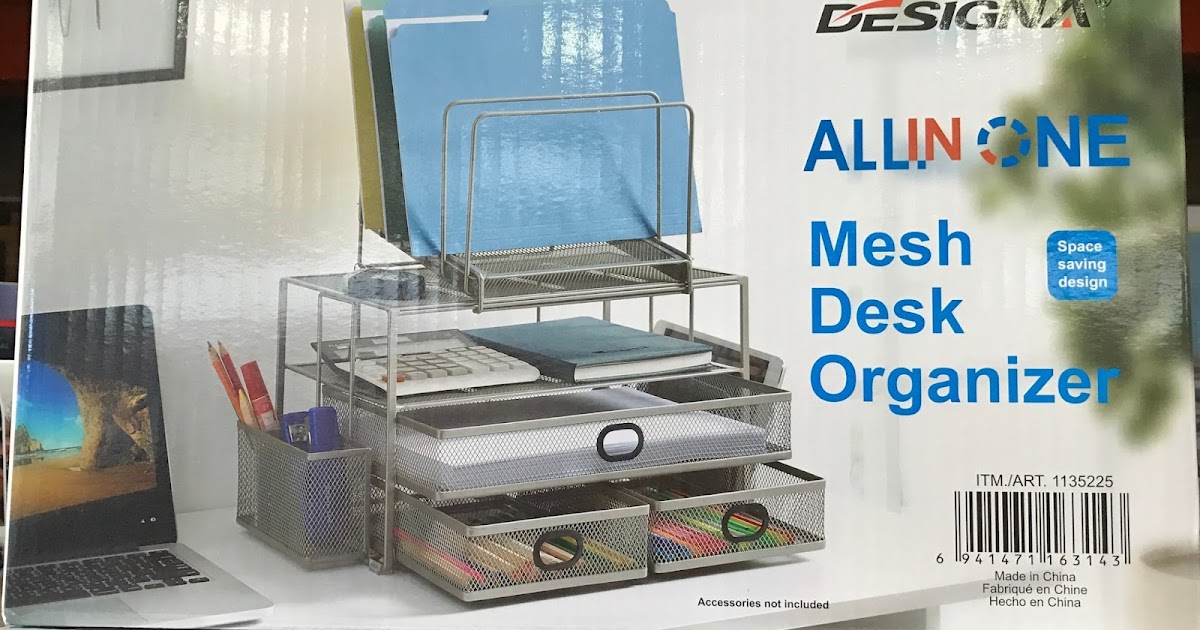 Designa Mesh Desk Organizer  Costco Weekender