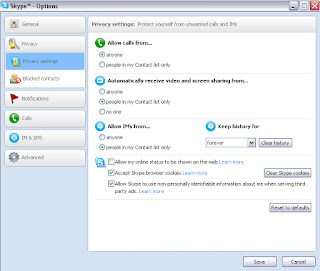 Remove Skype Chat History