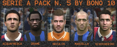 PES 2016 SERIE A FACEPACK N. 5 BY BONO10