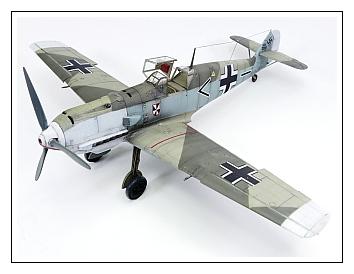 Bf-109E4 eduard 1/48