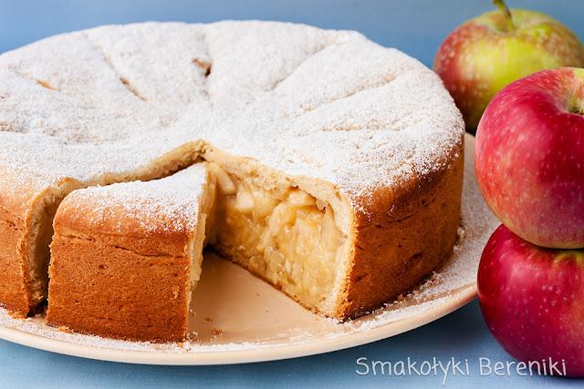 Ciasto z jabłkami bez jajek