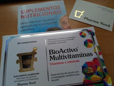 Multi vitaminico com passatempo