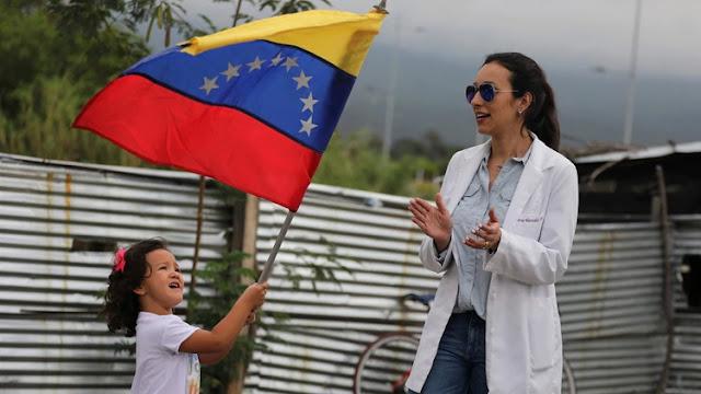 30 médicos venezolanos llegaron al lugar donde está la ayuda humanitaria en Colombia para colaborar.