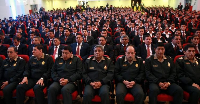 MININTER: 800 suboficiales son incorporados a tareas de inteligencia policial - www.mininter.gob.pe
