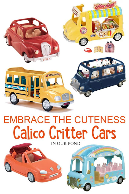 Embrace the Cuteness with Calico Critters // Life In Our Pond // gift guide // christmas list // toys for kids // doll house