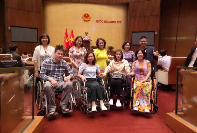 Tiếng nói của người CHẤN THƯƠNG CỘT SỐNG với Quốc hội