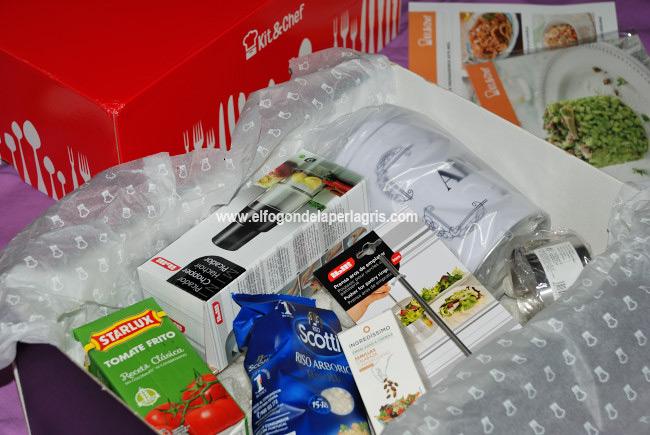 Contenido kit cocina de mercado KitandChef