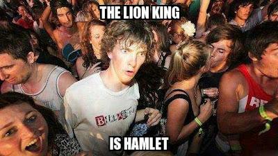 Le Roi Lion est Hamlet !