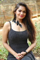Aswini in lovely Deep Neck Sleeveless Black Dress Spicy Pics ~  Exclusive 05.JPG