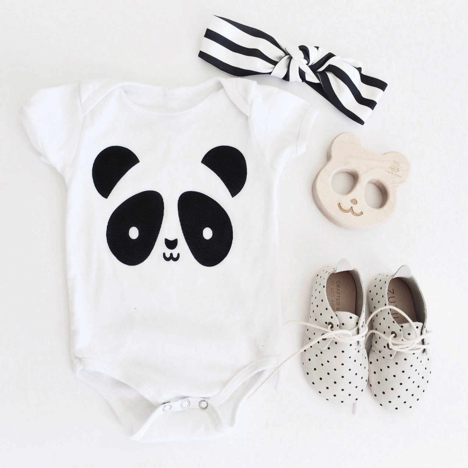 Whistle and Flute Panda Onesie Australia Stockist