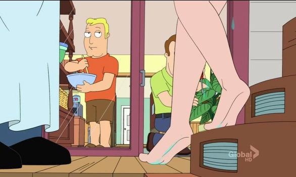 Something American dad totally naked You