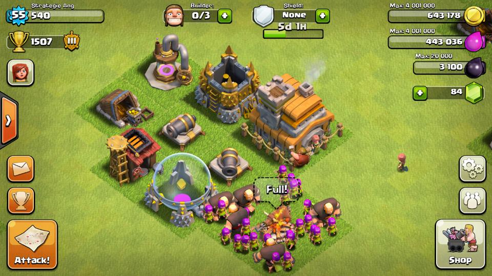 Town+Hall+1 clash of clans