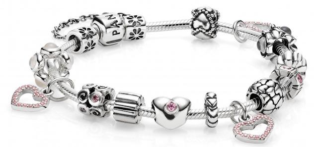 Onde comprar pingentes e pulseiras Pandora em Las Vegas