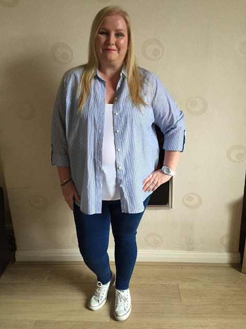OOTD - A Casual Look For Spring Primark shirt