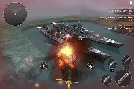 تحميل لعبة Gunship Battle: Helicopter 3D كاملة مهكرة للأندرويد
