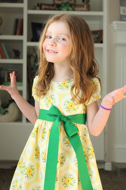 Spring Easter Dress - Holly and Ivy