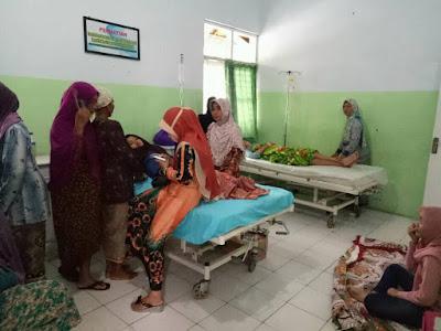 Akibat Imunisasi Difteri Puluhan Santri Al-Falah Sumber Gayam Kadur Derita Kejang-Kejang