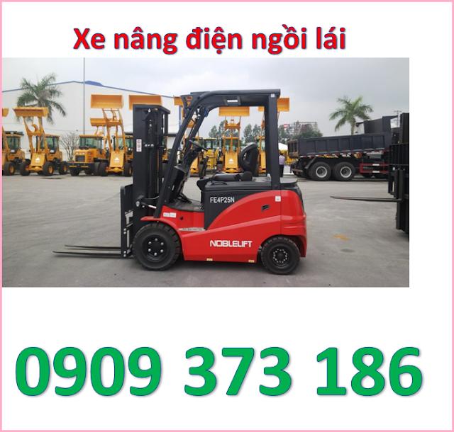 d1 mua xe nâng điện ngồi lái 1600kg noblelift cao 3m, 4m, 5m ở đâu   0909 373 186