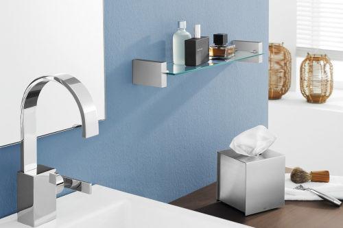 Luxe Badkamer Accessoires : Pimp je badkamer met rvs badkameraccessoires wonen