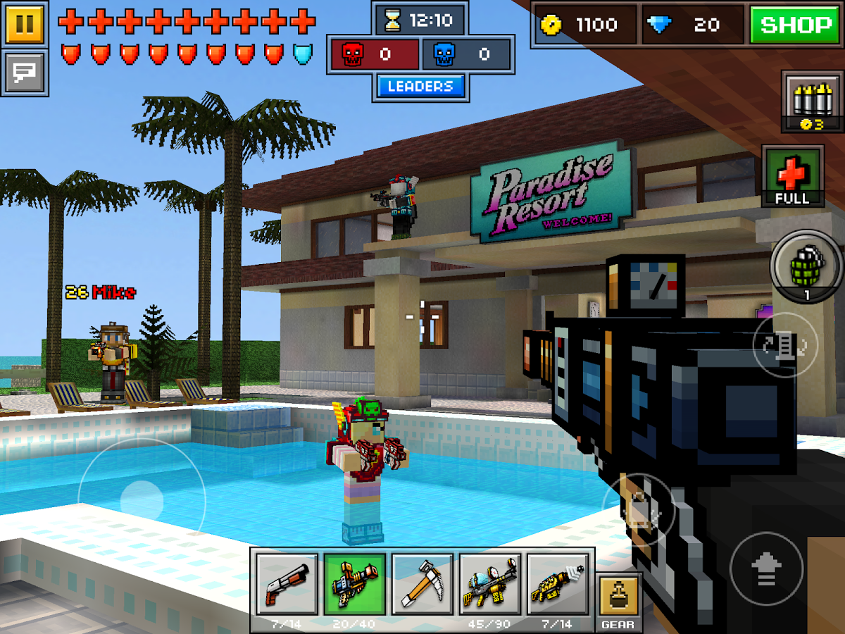 Download Pixel Gun 3d Pro V10 4 4 Apk Mod Unlimited