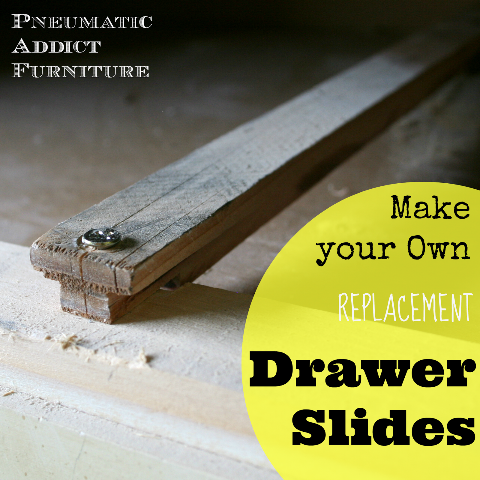 Replacement Drawer Slides >> How To Build Your Own Drawer Slides Pneumatic Addict