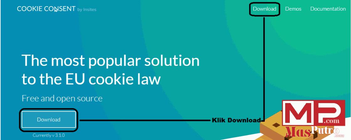 Cara Mudah Memasang Notifikasi Cookie di Blog Anda