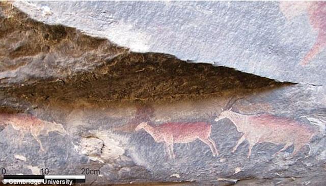 Misteri Usia Lukisan Batu Cadas Di Afrika Selatan Akhirnya Terkuak